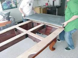Pool table moves in Jefferson City Missouri