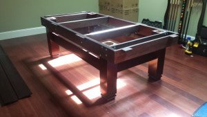 Correctly performing pool table installations, Jefferson City Missouri
