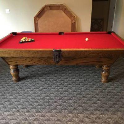 4'x8' Pool Table