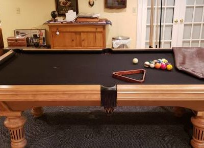 AE Scmidt Pool Table