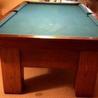 A.E. Schmidt Pool Table
