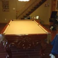 L A Billiards Pool Table