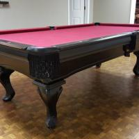 Golden West 4x8 pool Table Black