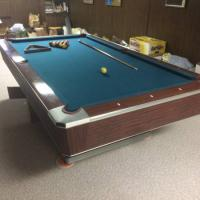 Fisher Pool Table Great Shape Full Size