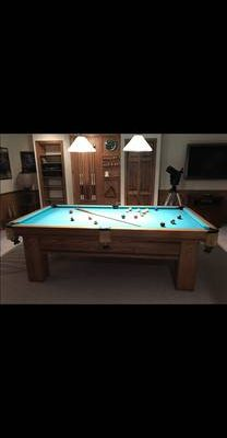 A.E. Schmidt Pool Table